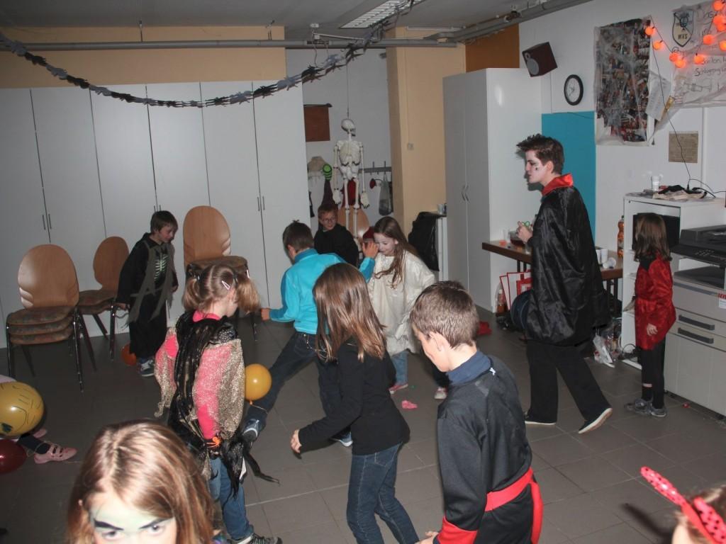 Halloweenparty Bläserbande