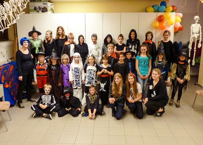 Halloweenparty 2014