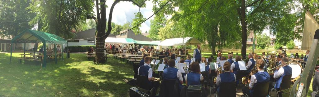 Foto vom Schlossgartenfest 2016