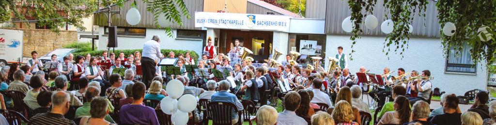 Foto Orchester am Serenadenkonzert 2016